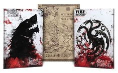Add a touch of Westeros to your home with this Game of Thrones Canvas Art. Only $19.99 from ThinkGeek.com- NEED NEED NEED