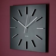 Nowoczesny zegar ścienny Delicate – Deccoria.pl – inspiracje w galerii Nowoczesny zegar ścienny Delicate