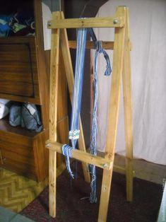 Подробный мастер-класс по ткачеству на дощечках с применением станка. - Ярмарка Мастеров - ручная работа, handmade
