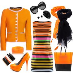 orange you're gorgeous. Love it, but would need to be knee length...