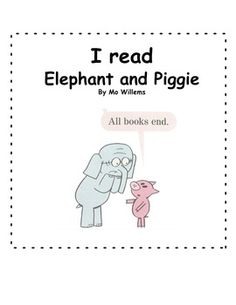 A WHOLE WEEK WITH ELEPHANT & PIGGIE