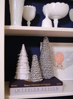 DIY cone trees