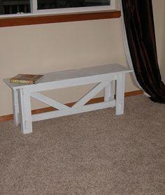 How to build a bench #diy #tutorial