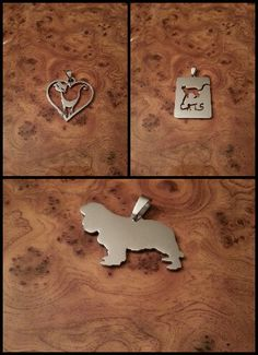 Cat and dog pendant :)