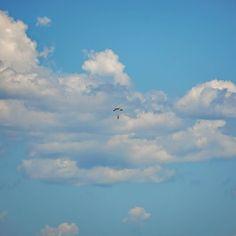 #Parachute #Sky #Clouds #Jump #Flying #SnapperRocks #GoldCoast #Australia #VisitGoldCoast by jokmau