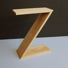 Zedside Table. A funky bedside table in solid ash. Make a statement in the bedroom. Available in other timbers on request - Oak, Beech, Walnut and more - OzKat design would be more than happy to build a ZedSide Table for you!