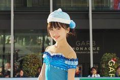 本田望結が大阪梅田のど真ん中で「氷deつるんつるん」のリンク開きセレモニーに参加し初滑り