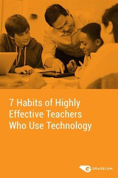 """""""Technology can never replace you as the educator, nor should it be used as a less-than-desirable replacement for duties you usually perform. Superhero Teacher, Effective Classroom Management, Teaching Skills, Teacher Inspiration, Formative Assessment, Teacher Hacks, Teacher Organisation, Free Math, 7 Habits"""