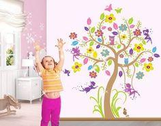 Kinderzimmer wandgestaltung feen  29 besten Kinderzimmer einrichten wie im Märchen Bilder auf ...