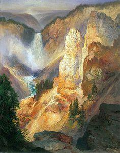Thomas Moran Painting Reproductions and Canvas Prints at TOPofART ...
