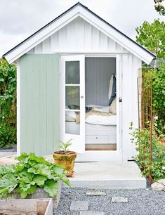a charming and serene garden cottage in sweden | my cosy retreat...