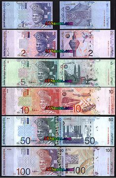 Malaysia banknotes1996-2000 - Malaysia paper money catalog and Malaysian currency history