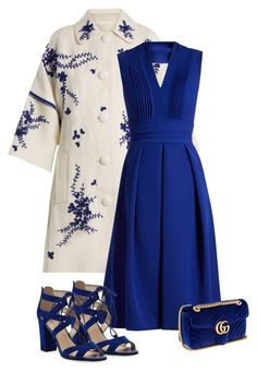 """""""Untitled #5198"""" by barones-tania ❤ liked on Polyvore featuring Andrew Gn, Preen, Circus by Sam Edelman and Gucci"""