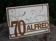 Zauberhaft-handgemacht, Kork, 70. Geburtstag, Framelits Große Zahlen, SU, Everything Eleanor