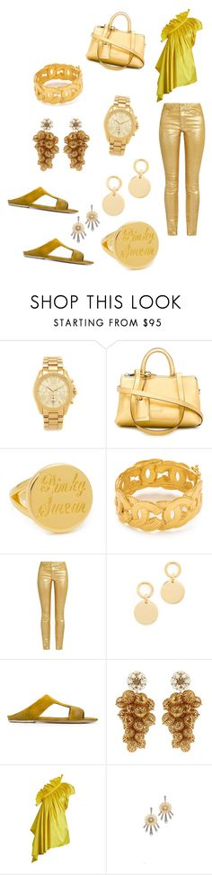"""""""Golden Days..**"""" by yagna ❤ liked on Polyvore featuring Michael Kors, Marsèll, Elizabeth and James, Étoile Isabel Marant, Amber Sceats, Dolce&Gabbana, Marques'Almeida, Lulu Frost and vintage"""
