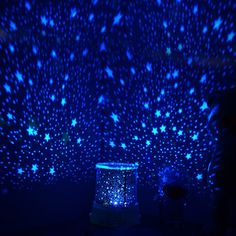 Fancy | Five Speed Adjustable Light Romantic Star Master Rotation Projector LED Lamp