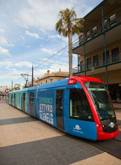 Experience Jetty Road Glenelg, South Australia || Funkaay tram design by Image & Substance