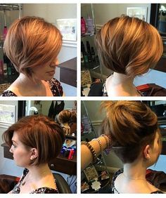 Gorgeous Short Hairstyles for Women With Hidden Haircut