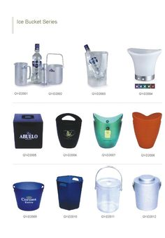 Ice buckets. www.ideagroupigm.com