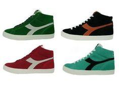 DIADORA-TENNIS-270-SH-scarpe-uomo-sneakers-alte-camoscio-casual-vari-colori