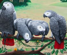 5-african_grey_parrot_painting.JPG (650×534)