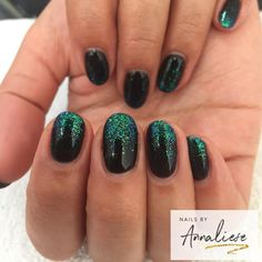 """77 Likes, 5 Comments - Annaliese (@nailsbyannaliese) on Instagram: """"😍😍 is there anything prettier than a mermaid fade?? Thank you @kea_ for having beautiful hands to…"""""""