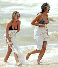 Bikini babes! Pretty Little Liars stars Ashley Benson and Shay Mitchell both slipped into two-piece suits in Maui!