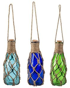 Midwest CBK 75 Hanging Jar Buoys with Jute Rope Assorted Set of 3 ** You can get more details by clicking on the image. We are a participant in the Amazon Services LLC Associates Program, an affiliate advertising program designed to provide a means for us to earn fees by linking to Amazon.com and affiliated sites.