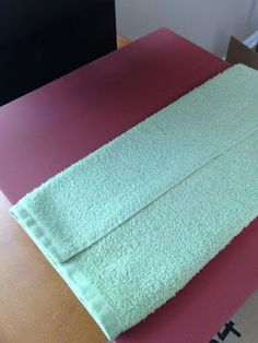 How to Add HTV on Towels