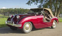 1950 Crosley Hot Shot Roadster (US) 724cc 4-Cylinder 26.5bhp Engine (photo by Clay)
