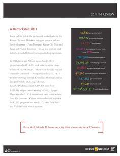 A Remarkable 2011 - Reece & Nichols