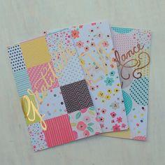 Blank Notebook - Set of 2 Travelers Notebook A5 Handmade Journal Goal Setting Gratitude Journal Midori Insert Bullet Journal Prayer by HotWheelsAndGlueGuns