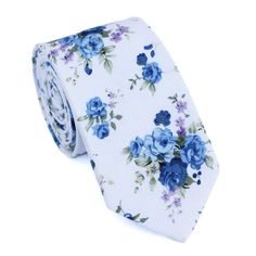 """Twin brother to White Floral and really, really, ridiculously good looking. 100% Cotton Handmade 2.5"""" wide at the tip Approx. 58"""" in length"""