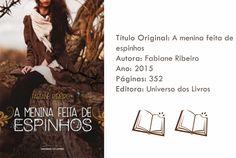 Livro - A menina feita de espinhos