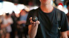 自分でストリートビュー撮りたい?世界最小ボール型全天球カメラ「Luna」ならできる!