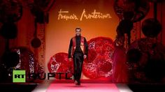 FRANCIS MONTESINOS: Mercedes-Benz Fashion Week Madrid Full Show Fall Winter 2015-16