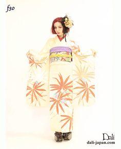 ダリのお着物レンタル(成人式.花嫁衣装等) 成人式には乙女なお着物で変身☆