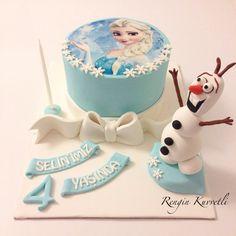 Elsa Pastası / Elsa Cake