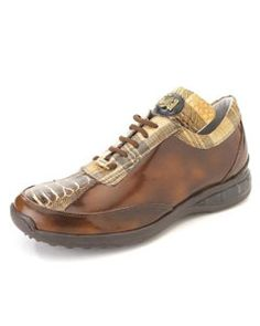5e25f9ed ID#RC3300 High Top Exotic Skin Sneakers for Coco Chocolate brown Multi  Genuine Ostrich Sneaker