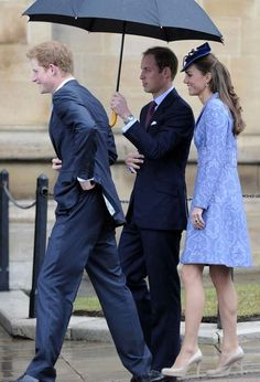 Kate, William and Harry.