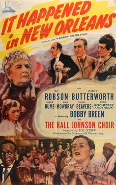 """Rainbow on the River (1936) Vintage R46 Movie Poster - 27""""x 41"""""""