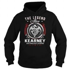 Cool Best KEARNEY  ALIVE AND ENDLESS LEGENDFRONT Shirt T shirts