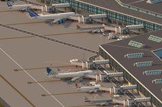 http://yazur.deviantart.com/art/Minecraft-Huntington-City-International-Airport-497765841