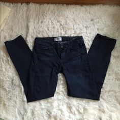 PAIGE jeans Paige jeans. Very soft denim and very comfortable jeans. Size 29. Some light pulling of the denim which is why they're priced so low. This can be seen in the first picture. The pulling of the denim in that picture is the only pulling and it is barely noticable. The rest of the jeans are perfect. Paige Jeans Jeans Straight Leg