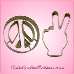 "The Peace Symbol Cookie Cutter will help you bake cookies that are groovier than Woodstock was back in 1969! Your friends will say, ""Far out!"" when they see the treats you've baked with one of these t"