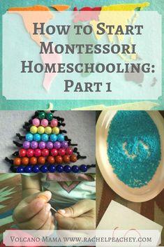How to Start Montessori Homeschooling: Part 1 in a Series . montessori from the start Montessori Kindergarten, Montessori Homeschool, Montessori Classroom, Montessori Toddler, Preschool Curriculum, Montessori Activities, Toddler Learning, Preschool Learning, Toddler Preschool