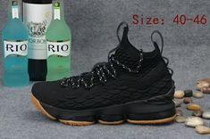 4179dfa71cc7 Official Cheap LeBron Shoes 2018 Lebron 15 XV Black Gum
