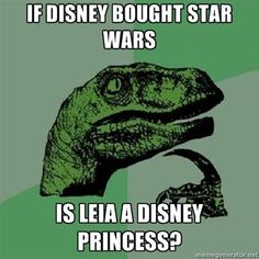 Star Wars Episode VII Memes- and yes, technically.....I guess she would be now LOL