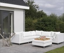 Ibiza Lounge White - Persoon Outdoor Living