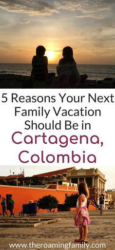 When you hear of Cartagena, Colombia you probably don't think of it as a family friendly travel destination, but it is! We will share our favorite family friendly hotels in Cartagena, our favorite foods in Cartagena, and things to do in Cartagena Colombia with kids. Make sure you check out this Cartagena travel guide and save it to your travel board so you can use it for your trip. #colombia #cartagena #cartagenacolombia #familyvacation #familytrips #familyfriendly #kidfriendly